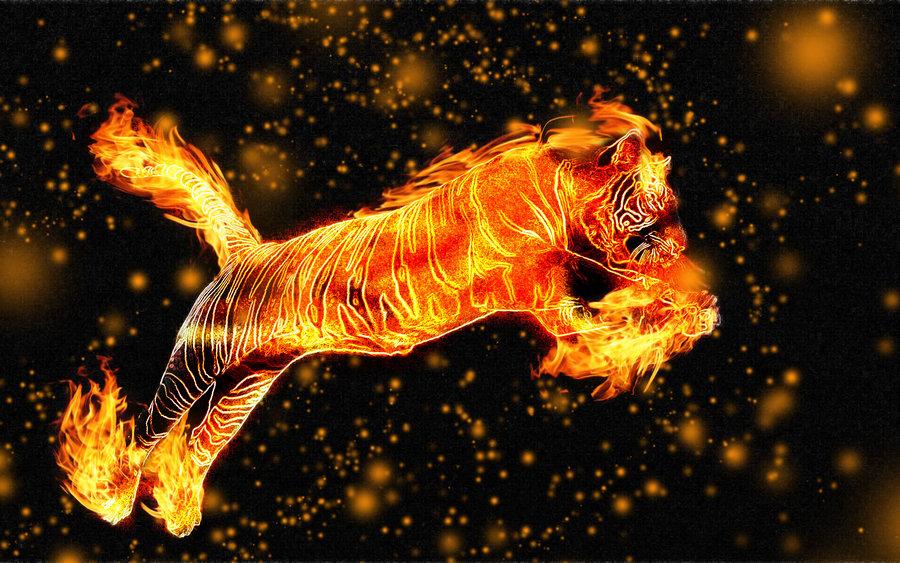 Знаком огненный тельца под тигр