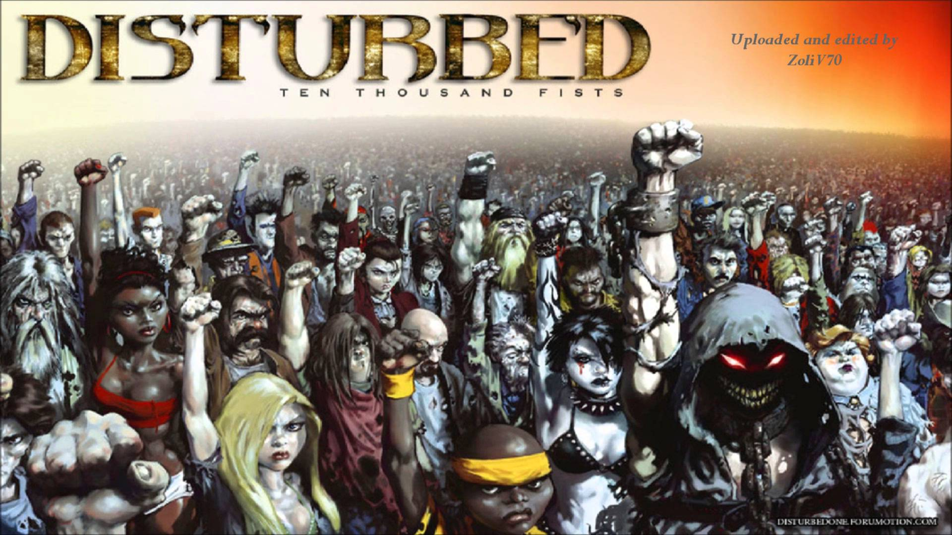 Ten thousand fist by disturbed