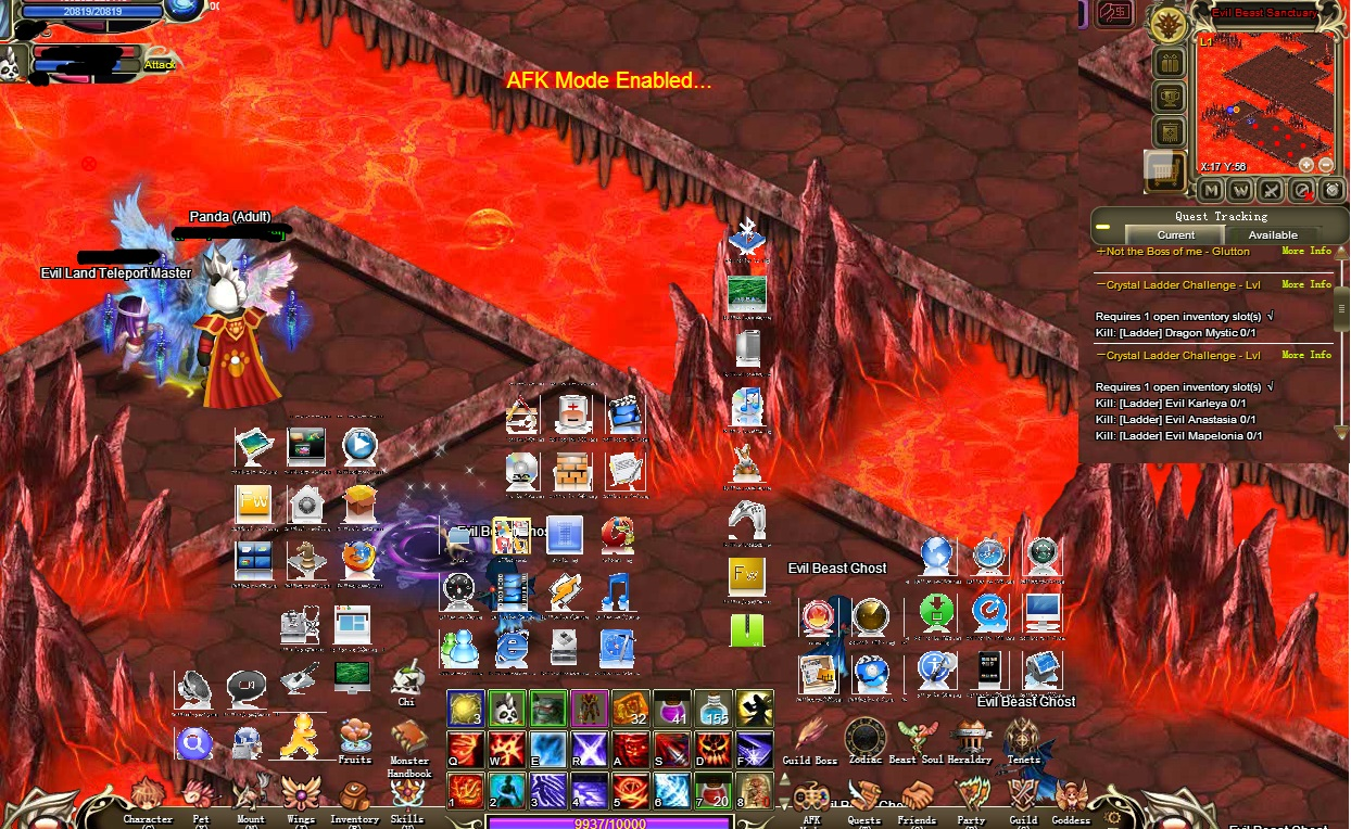 crystal saga fire mage guide
