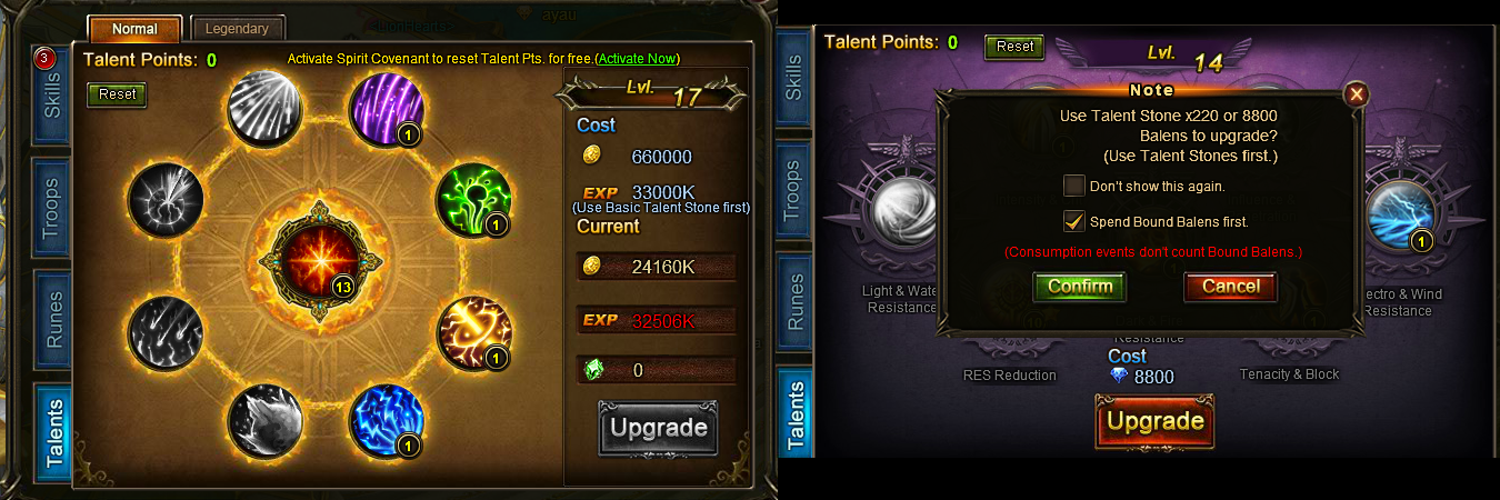 difference between talent stones and basic talent stones - Reality ...