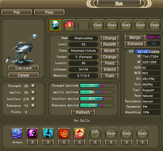 crystal saga ranger anti-mage build