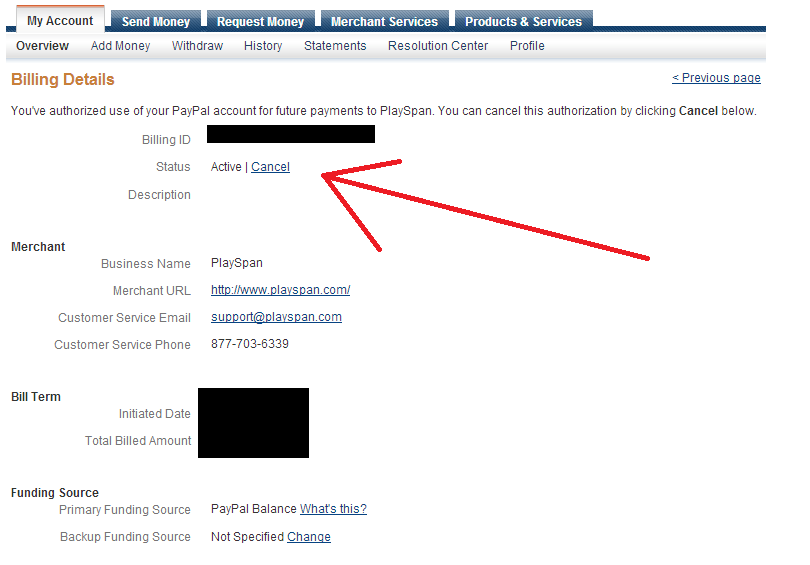 [Guide] How To Cancel A Paypal VIP Subscription Without